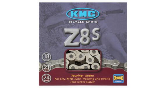 KMC Z 8 S Kette silber/grau